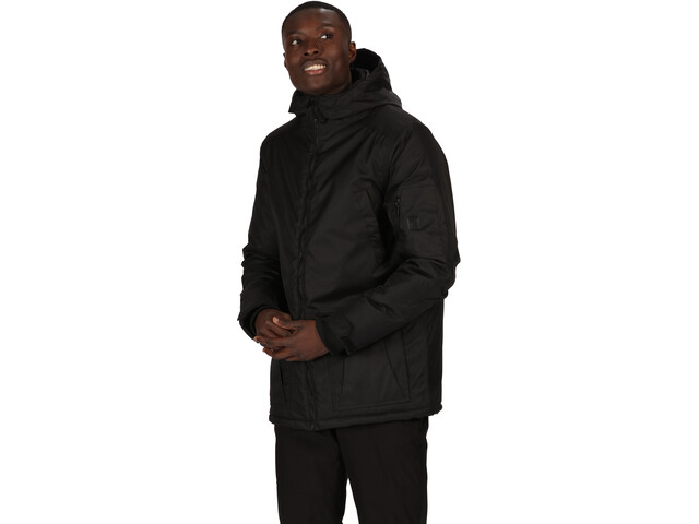 Regatta Stypher Chaqueta Aislante Impermeable Hombre, negro
